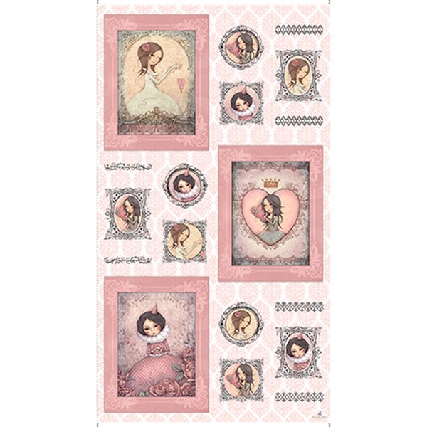 Mirabelle, All For Love, panel, rosa (10904)