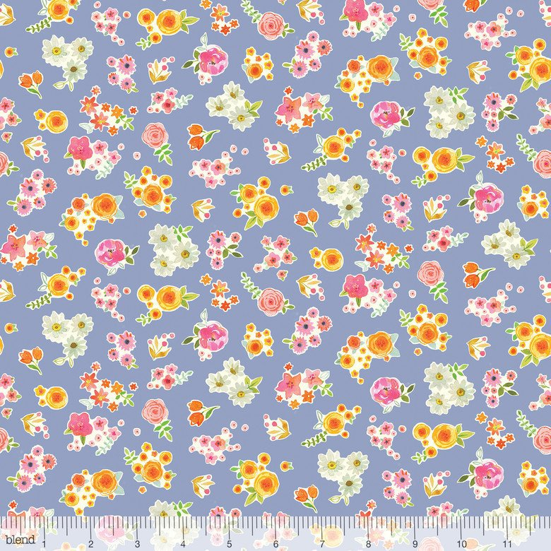 Collette Floret Blue (11002)