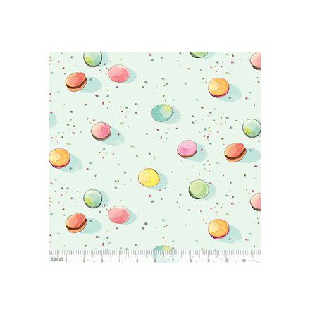 Collette Dot Macarons Aqua (11005)