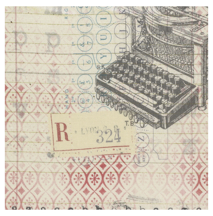 Tim Holtz, Eclectic Elements, Correspondence neutral (11013)