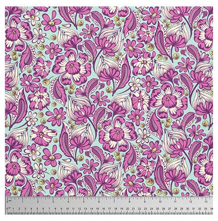 Tula Pink, Chipper, Raspberry (11026)