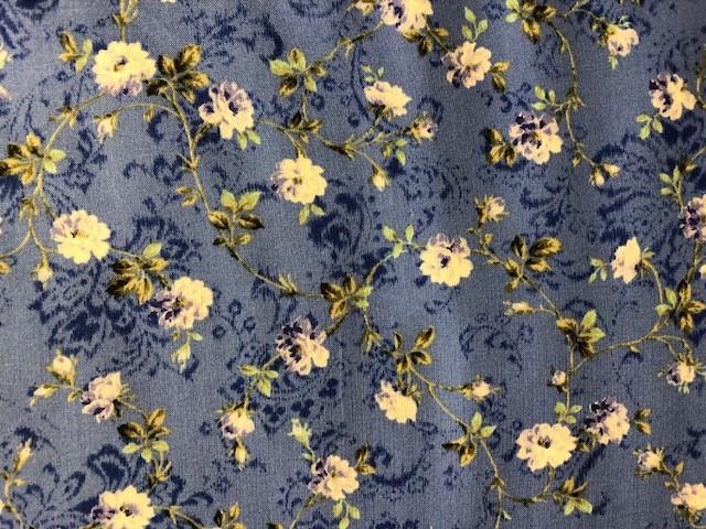 Mörkblå blommor (11051)