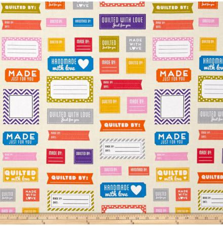 Made For You, Quilt Labels (11125)