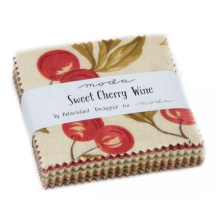Sweet Cherry Wine by Blackbird Design, charmpack (11314)