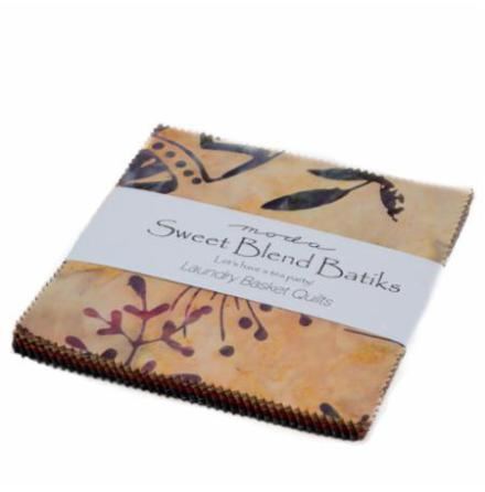 Sweet Blend by Laundry Basket Quilts, charmpack (11315)