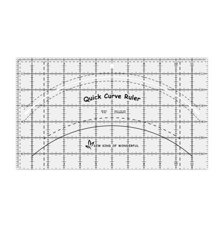 Linjal, Quick Curve Ruler (12003)