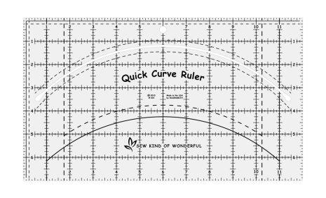 Linjal, Quick Curve Ruler (12003)