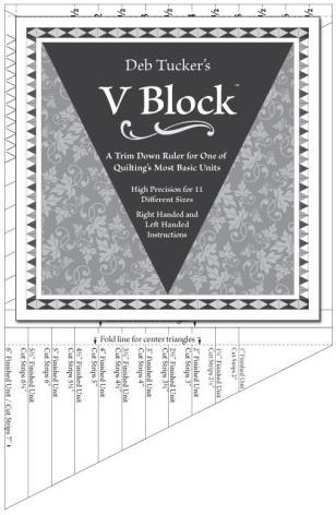 Linjal, V-Block (12007)