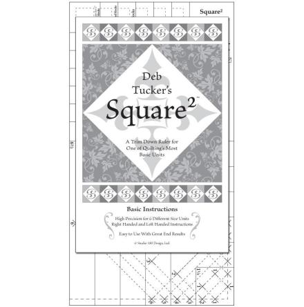 Linjal, Square Squared (12024)