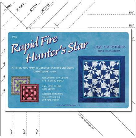 Rapid Fire Hunter's Star-Large (12025)