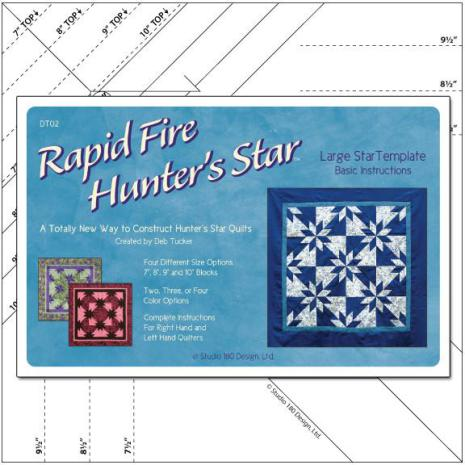 Linjal, Rapid Fire Hunter's Star-Large (12025)