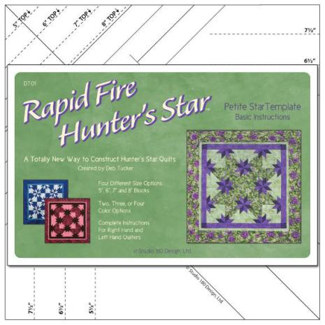 Linjal, Rapid Fire Hunter's Star-Petite (12026)