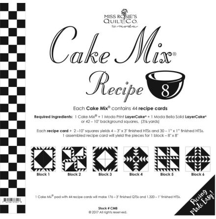 Cake Mix Recipe # 8 (13043)