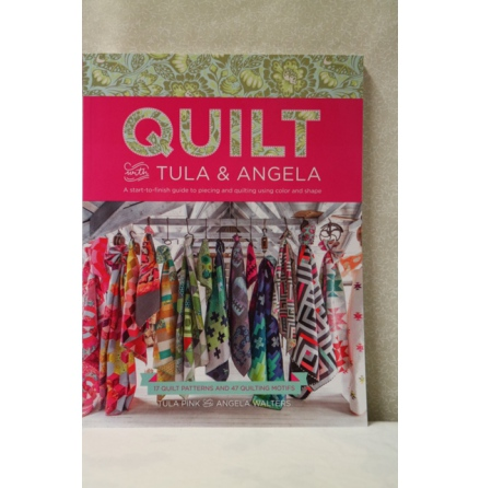 Quilt With Tula & Angela-OBS Signerad!!! (14005)