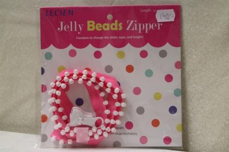 Jelly Bead Zipper (16005)