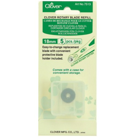 Clover Refillblad 18 mm 5-pack (16052)