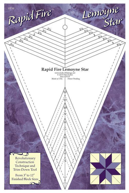 Linjal Studio 180 Rapid Fire Lemoyne Star (12029)