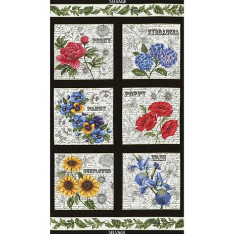 Garden Journal 24'' paneler (11191)