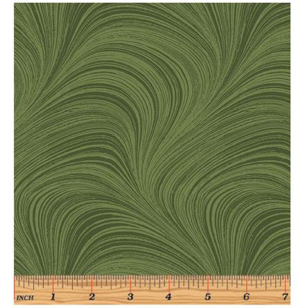 Wide Wave Texture Medium Green By Jackie Robinson