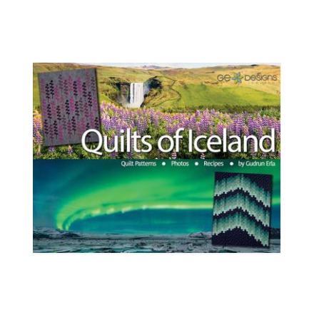 """Quilt Of Iceland by Gudrun Erla """"SIGNERAD av författaren"""" (14011)"""