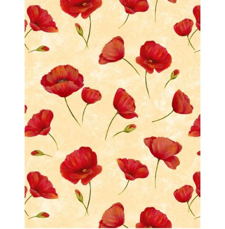 Scarlet Dance Poppies (11207)