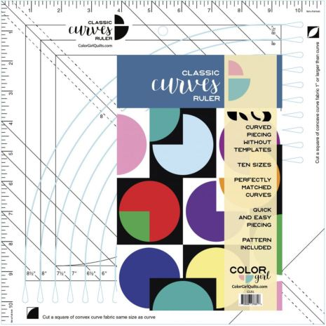 Linjal, Classic Curves Ruler (12034)