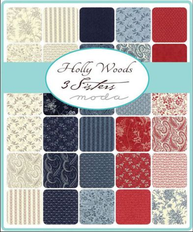 Holly Woods by 3 Sister MODA, charmpack (11375)