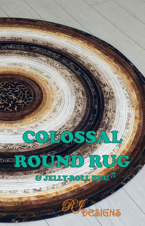 Colossal Round Rug (13077)