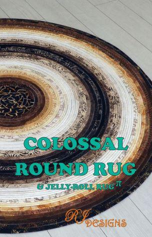 Colossal Round Rug (13077)