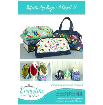 Trifecta Zip Bags - 6 Sizes (13078)