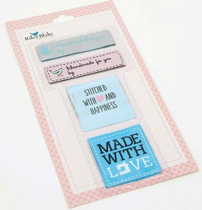 Riley Blake Notions Woven Labels (16059)