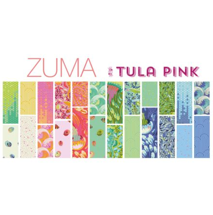 Zuma by Tula Pink for FreeSpirit Fabrics, charmpack (11386)