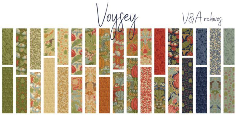 Voysey by V&A Archives, charmpack (11387)