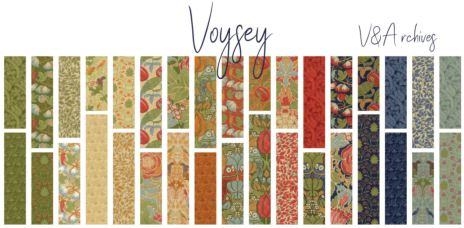 Voysey by V&A Archives, charmpack (11387)