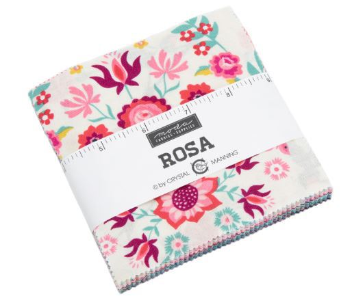 Rosa by Crystal Manning, charmpack (11389)