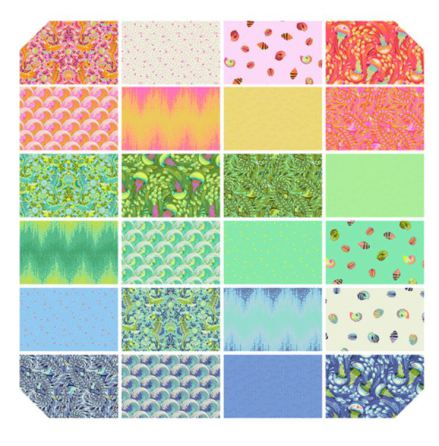 Zuma by Tula Pink for FreeSpirit Fabrics, jellyroll (11391)