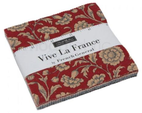 Vive La France by Moda, Charmpack (11397)