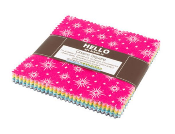 Hello by Robert Kaufman, Charmpack (11400)