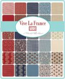 Vive La France by Moda, jellyroll (11402)