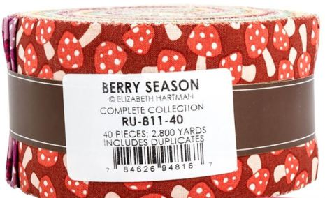 Berry Season by Robert Kaufman, jellyroll (11404)