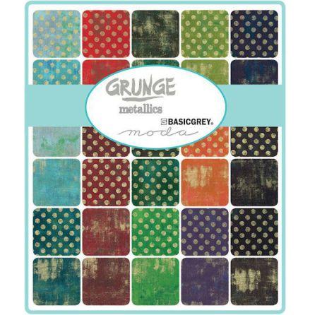 Grunge Metallics by Basicgrey Charmpack (11413)