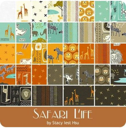 Safari Life By Stacy Iest Hsu, charmpack (11412)