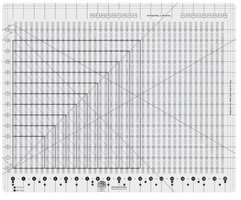 Stripology XL, linjal (12039)