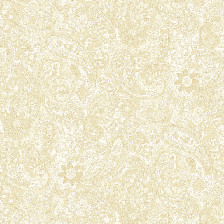 Bella Suede Wide backs Paisley Ivory (11564)