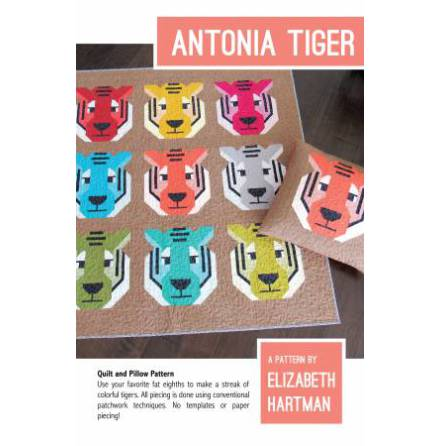 Antonia Tiger Mönster från Elizabeth Hartman (13119)