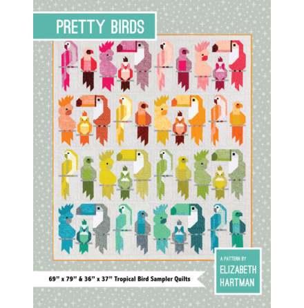 Pretty Birds mönster från Elizabeth Hartman (13121)