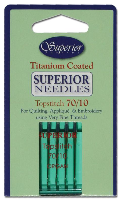 Superior Threads Topstitch nålar 70/10 (16122)