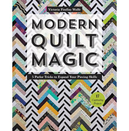 Modern Quilt Magic, signerad (16214)