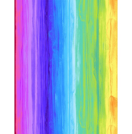 Rainbow Watercolor Stripe (16242)