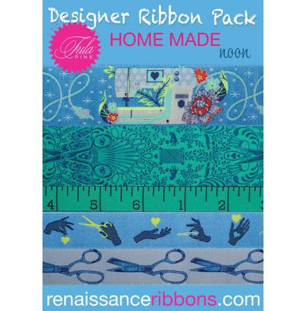 Designer Ribbon Pack Tula Pink Homemade Noon (16249)
